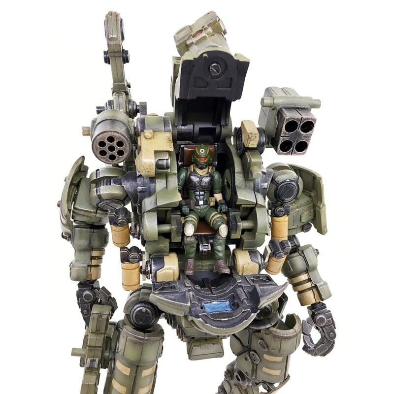Juguete JOY 1:27 figura de acción robot soldado militar conjunto de la tercera generación un juguete de regalo de cumpleaños (embalaje Simple) RE009-in Figuras de juguete y acción from Juguetes y pasatiempos    3