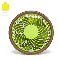 USB Desk Fan Mini Portable Computer Fan USB Gadgets For Office And Home Cute And Nice