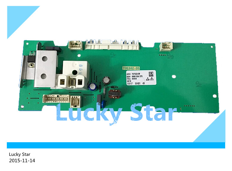 95% new good High-quality for SIEMENS washing machine Computer board WM175(XQG52-175) board good working high quality for lg washing machine computer board wd n10310d ebr61282428 ebr61282527 board