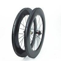 Aerospoke 700C китайские колеса углерода произво велосипед в Китае 88 мм 25 мм Широкий u образный Велосипеды углерода диски колеса