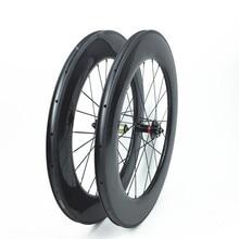 Aerospoke 700c bánh xe carbon trung quốc produ đạp tại 88 mét 25 chữ u shape cycling