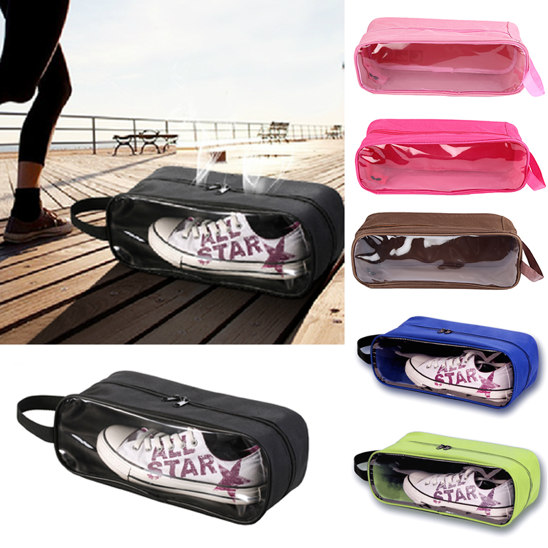 Portable Waterproof Football Shoe Storage Bag Travel Breathable