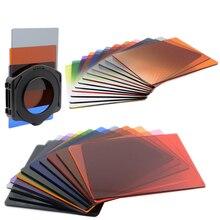 Densidade neutra nd suporte de filtro para câmera canon 200d eos 500d nikon d5100 sony a230 cokin p lente fotográfica cor 58 72mm 72
