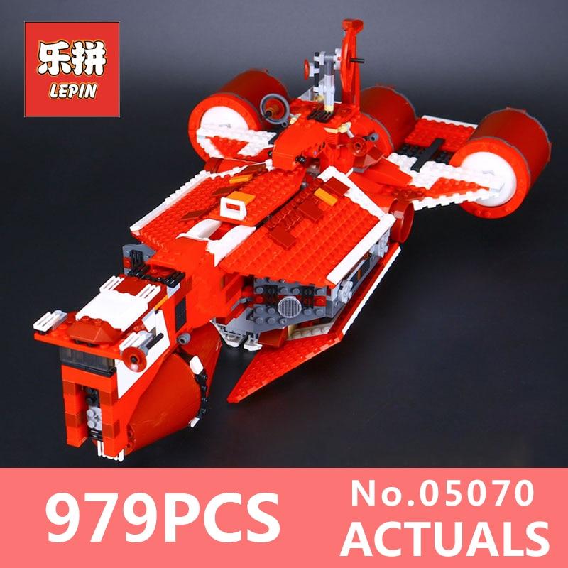 Star 963Pcs Lepin 05070 Wars Series Republic Cruiser Set Genuine Educational Building Blocks Bricks Toys Model LegoINGlys 7665