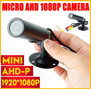 Cctv-Camera Starlight Bullet-Security Small Black Surveillance Micro Mini AHD Waterproof