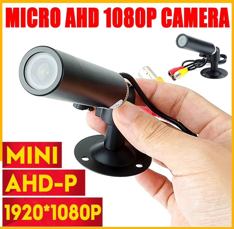 New Super Mini CCTV CAMERA HD AHD 3MP Starlight Waterproof Micro Surveillance Small Vandal-proof Black Metal Bullet Security