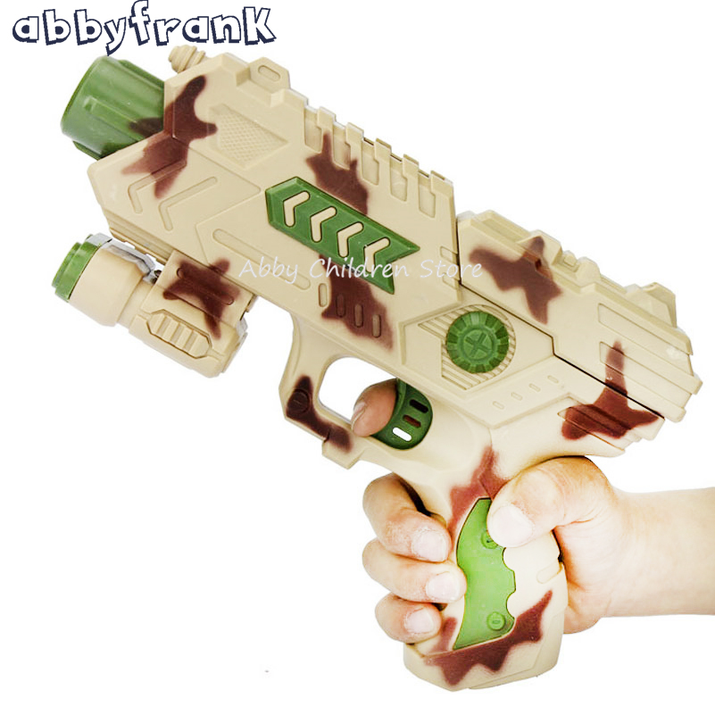 Abbyfrank 2 In 1 Toy Water Paintball Gun Soft Bullets Gun Plastic Kids Toy Infrared CS Game Crystal Water Gun For Children Gift