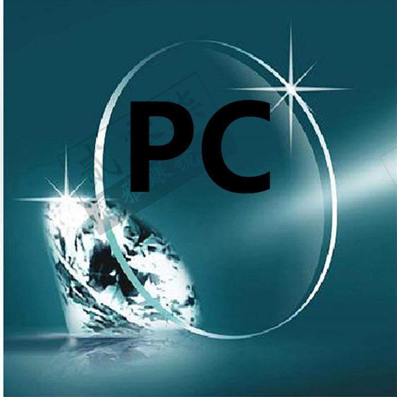 Myopic Linser PC Basket / Fotboll Dedikerad Lätt Impakt-Linser Polykarbonat Lins Explosionsskyddande Säkerhetslinser