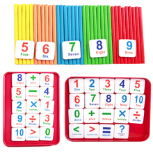 Counting Stick Magnetic Stickers Mathematics Teaching Aid Count for Children Learning Arithmetic Aids
