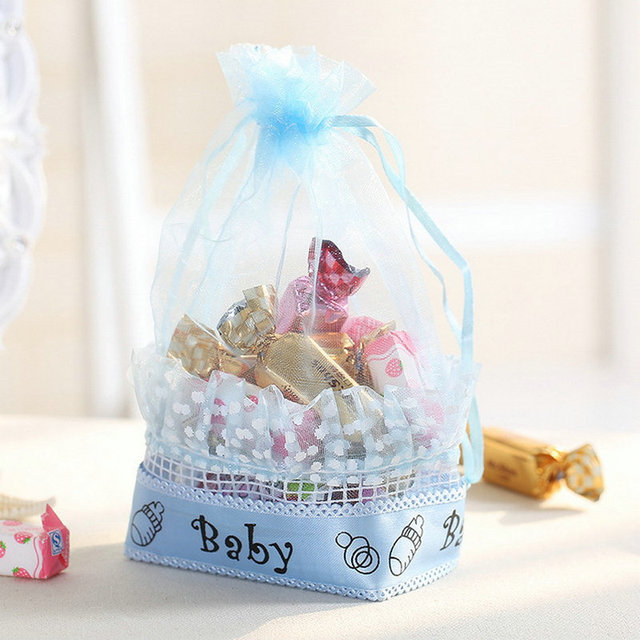 European creative party supplies personalized baby shower candy european creative party supplies personalized baby shower candy box baby full moon gift bags candy bags negle Images