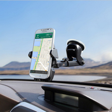 Universal Car Windshield Mount Holder Smart phone car stand holder For iPhone 7 6 5S MP3 iPod GPS for Huawei mate 9 Samsung