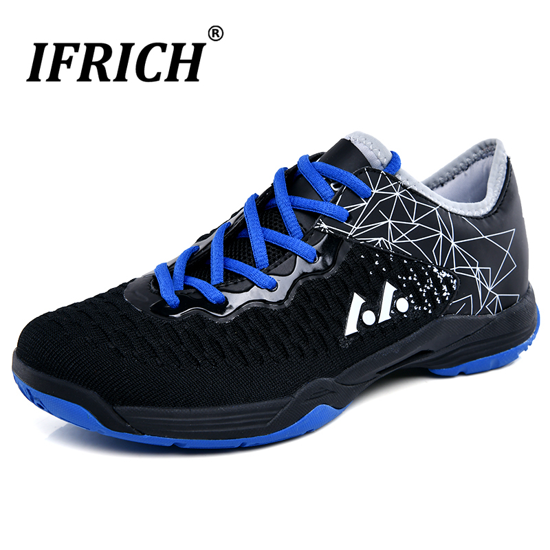 Couple Badminton Shoes Women Men Tennis Sport Sneaker Mesh Lightweight Court Athletic Trainning Shoe Volleyball Indoor Cushion