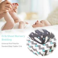 Baby Knitted Crib Sheet Set 2 Pack Stretchy Crib Sheet For Boys Girls Universal Knit Fitted Cover For Baby Toddler Crib