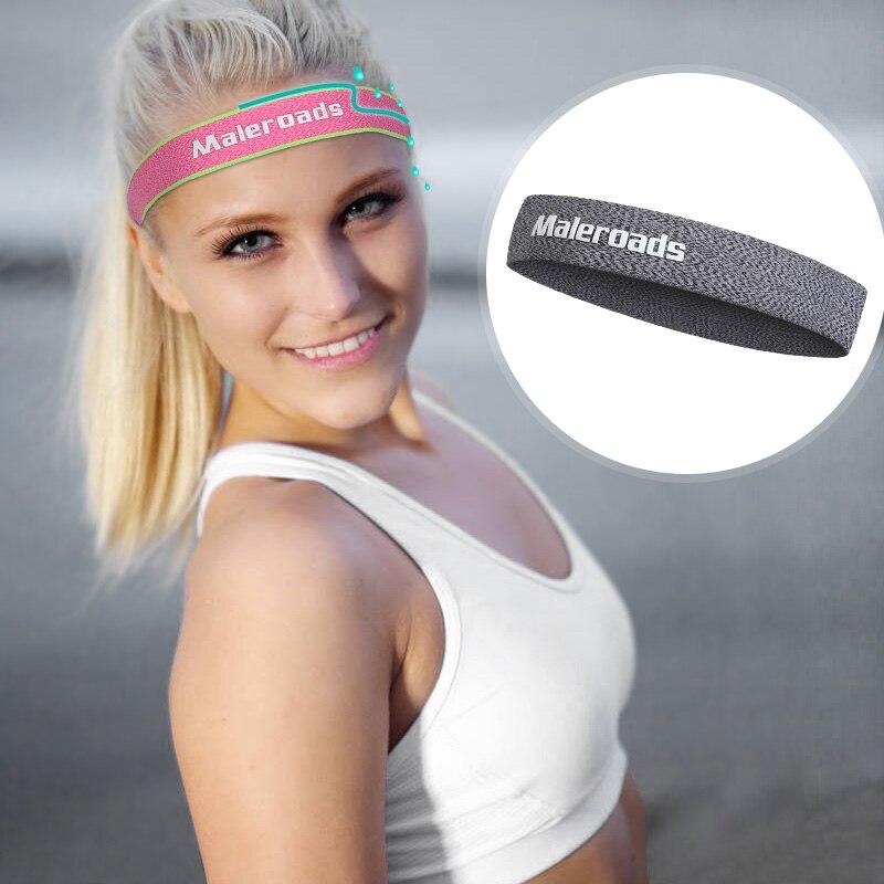 order online 4b770 85cd6 2017 Outdoor Running Head Wear Women Men Running  Sweat Control Headband Sweatbands ... e1b4a2595
