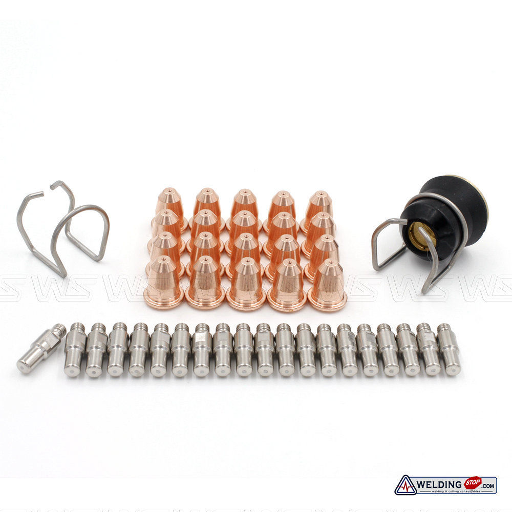 43Pcs Shield PC0116 Spring Spacer CV0010 Nozzle PD-116 Electrode PR-110 S45 Plasma Torch кальсоны ultramax s black 110 116 u1943new blk