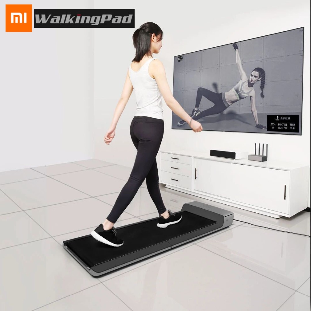 Xiao mi mi jia WalkingPad Machine D'exercice Pliable Ménage Non-plat Bande De Roulement mi ll Smart Contrôle de Speed Connect smart mi Maison App