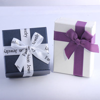 Wholesale Multi Colors Jewelry Box Jewelry Sets Display Box Necklace Earrings Ring Box Packaging Gift Box