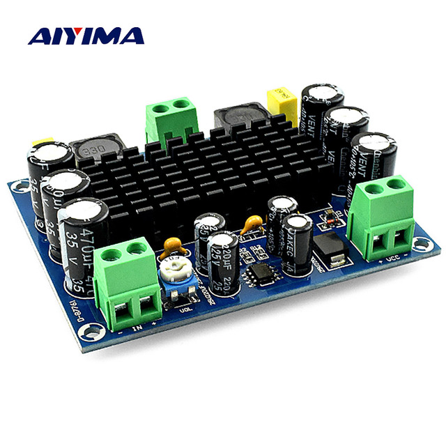 AIYIMA 150W TPA3116D2 Power Amplifier Board Amplificador Mono TPA3116 Digital Audio Amplifier Module DC12 26V Home Theater