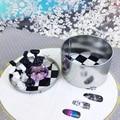 Tablero de ajedrez Magnético de Uñas Punta de Cristal Soporte 10 Unids Set Sostenedor de la Exhibición Del Salón de Lujo #88191