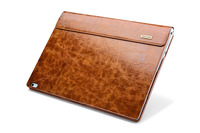 1PC Icarer Original High Quality Oil Wax Pattern Genuine Leather Case For Microsoft Surface Book