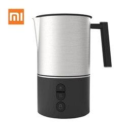 Xiaomi Scishare automatyczne elektryczny spieniacz mleka Cappuccino do gotowania na parze dzbanki dzban bańka elektryczny spieniacz ze stali nierdzewnej ekspres do kawy|Akcesoria do urządzeń do pielęgnacji osobistej|AGD -