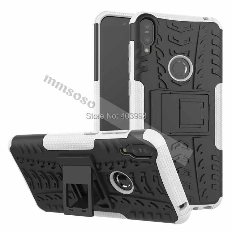 Чехол для ASUS Zenfone Max Pro M1 ZB602KL ZB 602KL X00TD армированный чехол для телефона из поликарбоната и ТПУ с двойная степень защиты Капа силиконовый чехол для ASUS Zenfone Max Pro M1