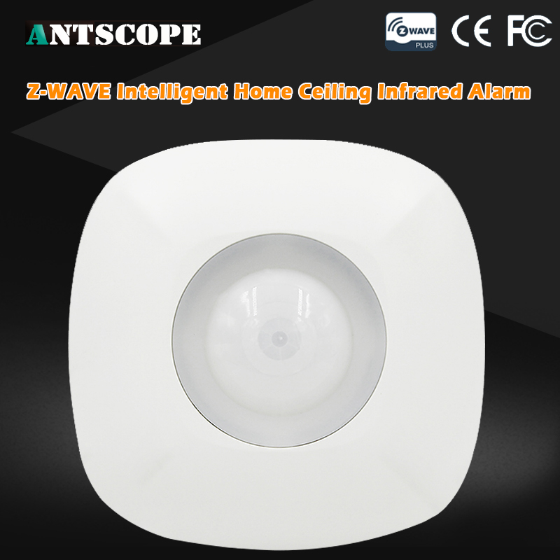 Antscope Z-wave PIR  Motion Detector Sensor Alarm Z wave Wireless Infrared Motion Sensor Smart Home Automation Security Systems neo coolcam nas pd02z new z wave pir motion sensor detector home automation alarm system motion alarm system eu us version