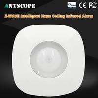 Antscope Z Wave PIR Motion Detector Sensor Alarm Z Wave Wireless Infrared Motion Sensor Smart Home