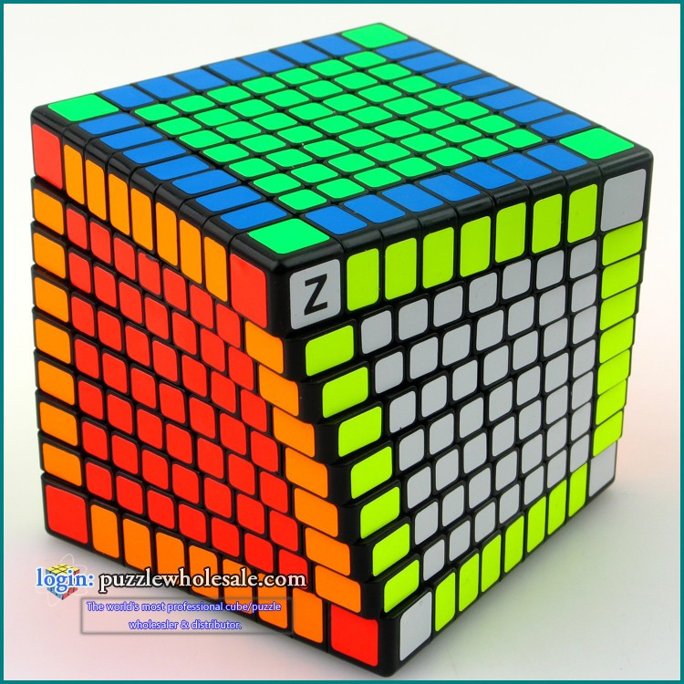Shengshou 9x9x9 Twist Speed Magic Cube Z-Bright new shengshou 10x10x10 magic cube professional pvc