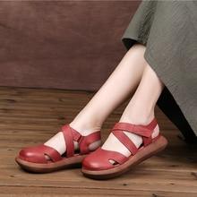 Gesloten Meisje Flats Schoenen