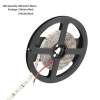 10 шт. 5 м 16ft 3528 SMD Водонепроницаемый 600 светодиодный s гибкий свет светодиодный Липкая лента 12 В