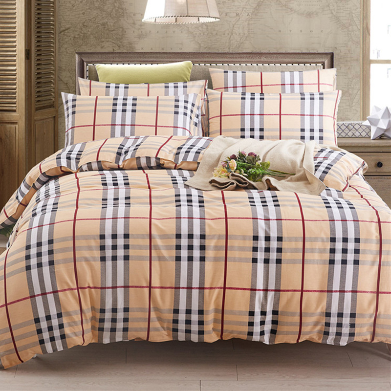 twin plaid comforter