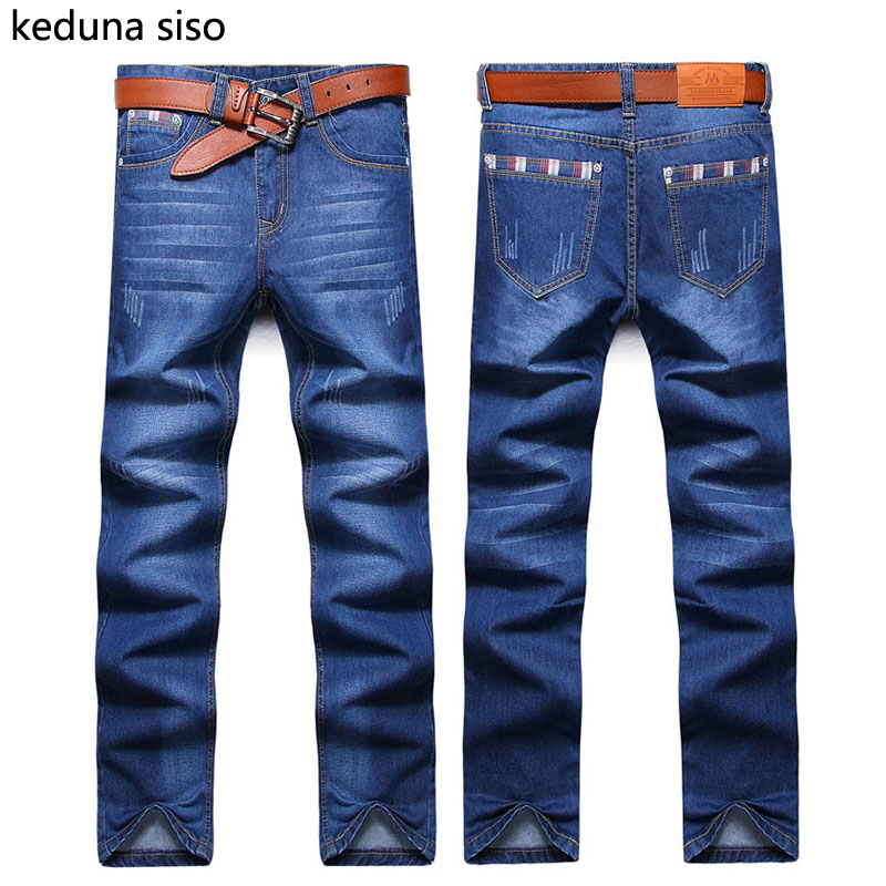 2016 Autumn Mens Biker Jeans Men homme Casual Denim Straight Design Blue Cheap Clothes China Brand Clothing Fog Jeans Men hombre men jeans fear of god ripped blue mens holes leisure straight denim designer mens jeans streetwear clothing pant oversize 28 40