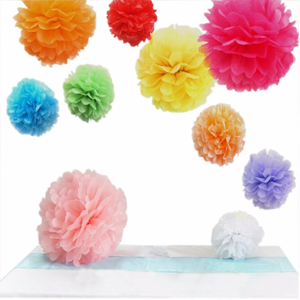 Online get cheap paper flowers aliexpress alibaba group 30 pcslot wedding decor party tissue paper flowers birthday party mall dhlflorist Image collections