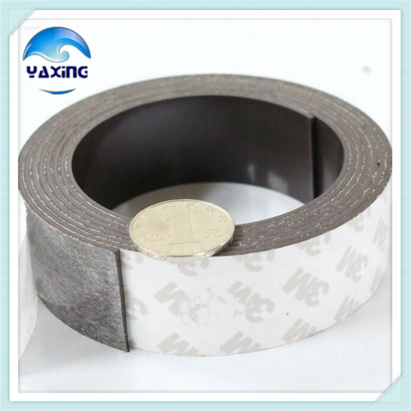5 Meter flexible magnet 25mm Width 1.5mm Thickness Rubber Magnetic Strip Tape Flexible Magnet DIY Craft Tape 5m magnetic tape 50mm width 1 5mm thickness rubber magnetic strip tape flexible magnet diy craft tape