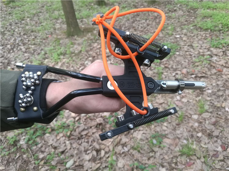 Slingshot Infrared big power Outdoor Hunting Shooting bow Adult Sports rubber band catapult