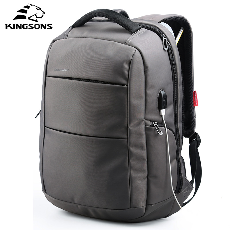 Kingsons 2018 Best Work Business Men Backpack Fashion Anti Theft Laptop Bag Casual Backpack Male Mochila Bagpack Pack Design все цены