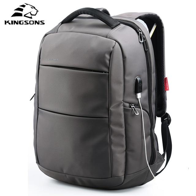 6e82292896 Kingsons 2018 Best Work Business Men Backpack Fashion Anti Theft Laptop Bag  Casual Backpack Male Mochila Bagpack Pack Design