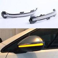 For VW Golf MK7 7.5 7 For GTI GTD Dynamic Blinker LED Turn Signal Light For Volkswagen Rline Sportsvan Touran Side Mirror Light