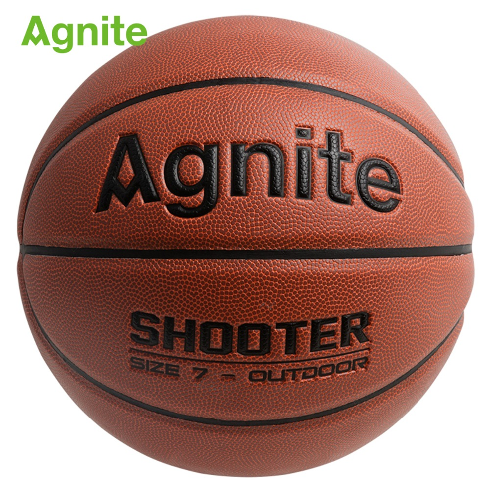 Agnite F1105A Official basketball size 7 PVC Man s Standard Games Basketball ball Bounce soft and
