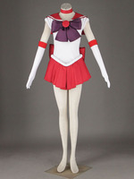 Free shipping Sailor Moon cosplay costume Sailor Mars cosplay Animation clothing