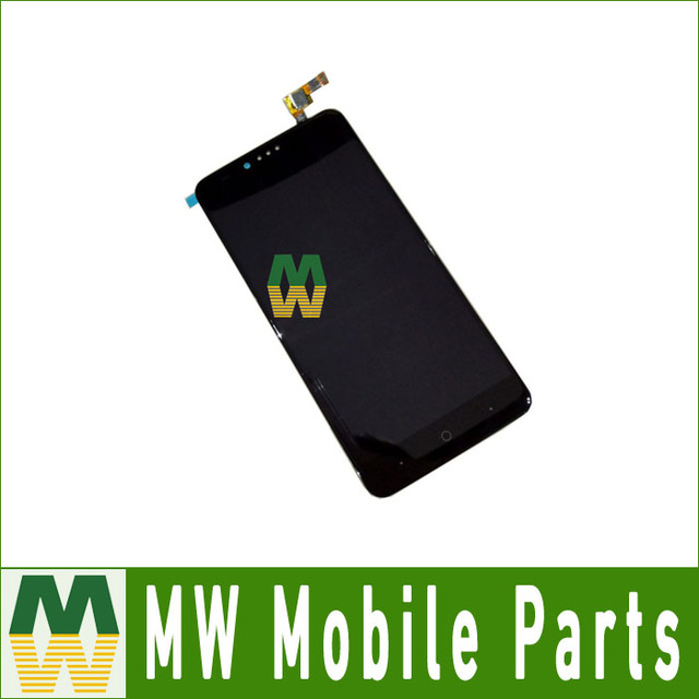 Black Color 1PC/ Lot High quality For ZTE ZMax Pro Z981 LCD Display + Touch Screen Assembly Digitizer
