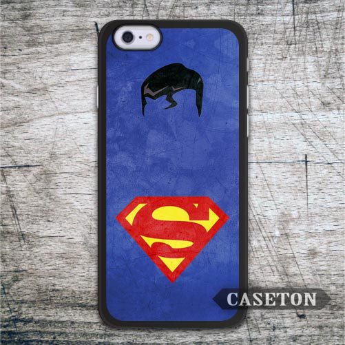 Classic Blue Superman Case For iPhone 7 6 6s Plus 5 5s SE 5c and For iPod 5 Retro High Quality Phone Cover