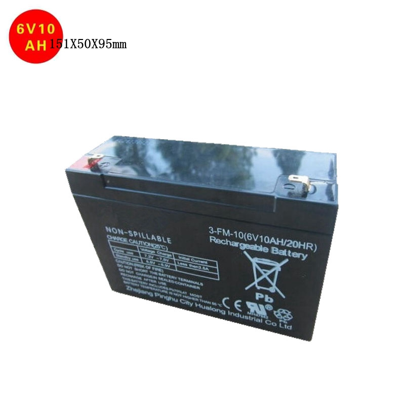 New 6v rechargeable lead acid storage battery long life ups battery electric vehicle car battery 6v 10ah 20hr 151X50X95mm delipow 3 6v cordless phone battery 3 6v battery 1 3aaa 250mah battery page 7