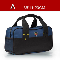 Urijk Multi Functional Hardware Tools Bag 600D Oxford Cloth Electrician Storage Pocket