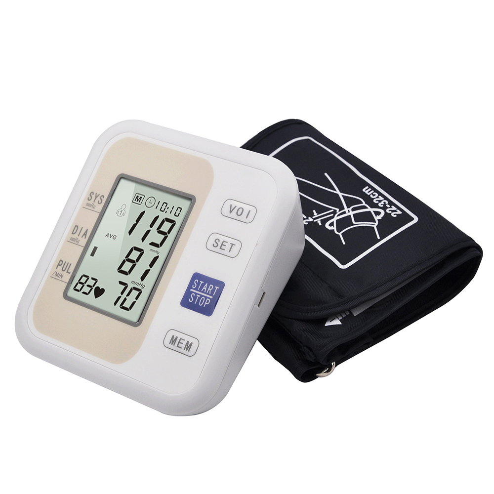 Home Upper Arm Blood Pressure Monitor Medical Equipment Tonometer for Measuring Heart Beat Meter Machine Blood Pressure MonitorHome Upper Arm Blood Pressure Monitor Medical Equipment Tonometer for Measuring Heart Beat Meter Machine Blood Pressure Monitor
