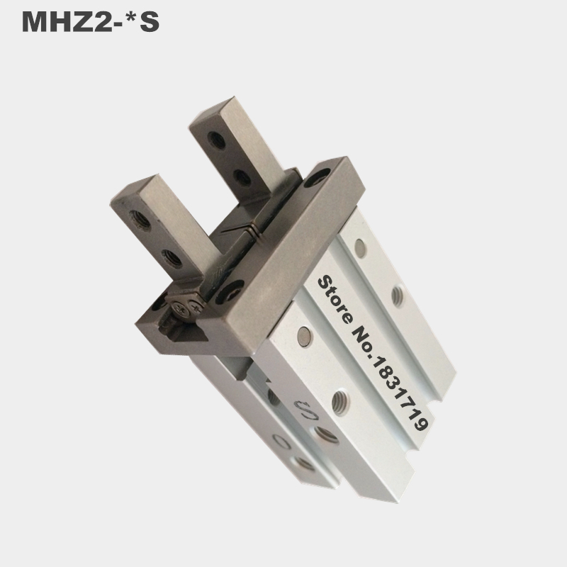 SMC standard type MHZ2-40S Parallel open and close type gas claw / finger / cylinder Single action mhz2 6s mhz2 6s1 mhz2 6s2 high quality pneumatic finger cylinder parallel open single action open air claw
