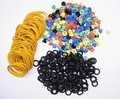 500pcs Tattoo Needle Ring Multicolour T Type Needle Ring Shock Rubber Band Consumables Tattoo Accessories Set