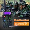 Baofeng uv-5r camuflagem walkie talkie vhf uhf handheld rádio bf uv5r rádio comunicador portátil hf transceptor de rádio amador