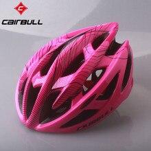 ciclismo Cairbull自転車ヘルメット道路マウンテンサイクリングヘルメット21ベントインモールドバイクヘルメット超軽量スポーツヘルメットcasco 55-62センチ